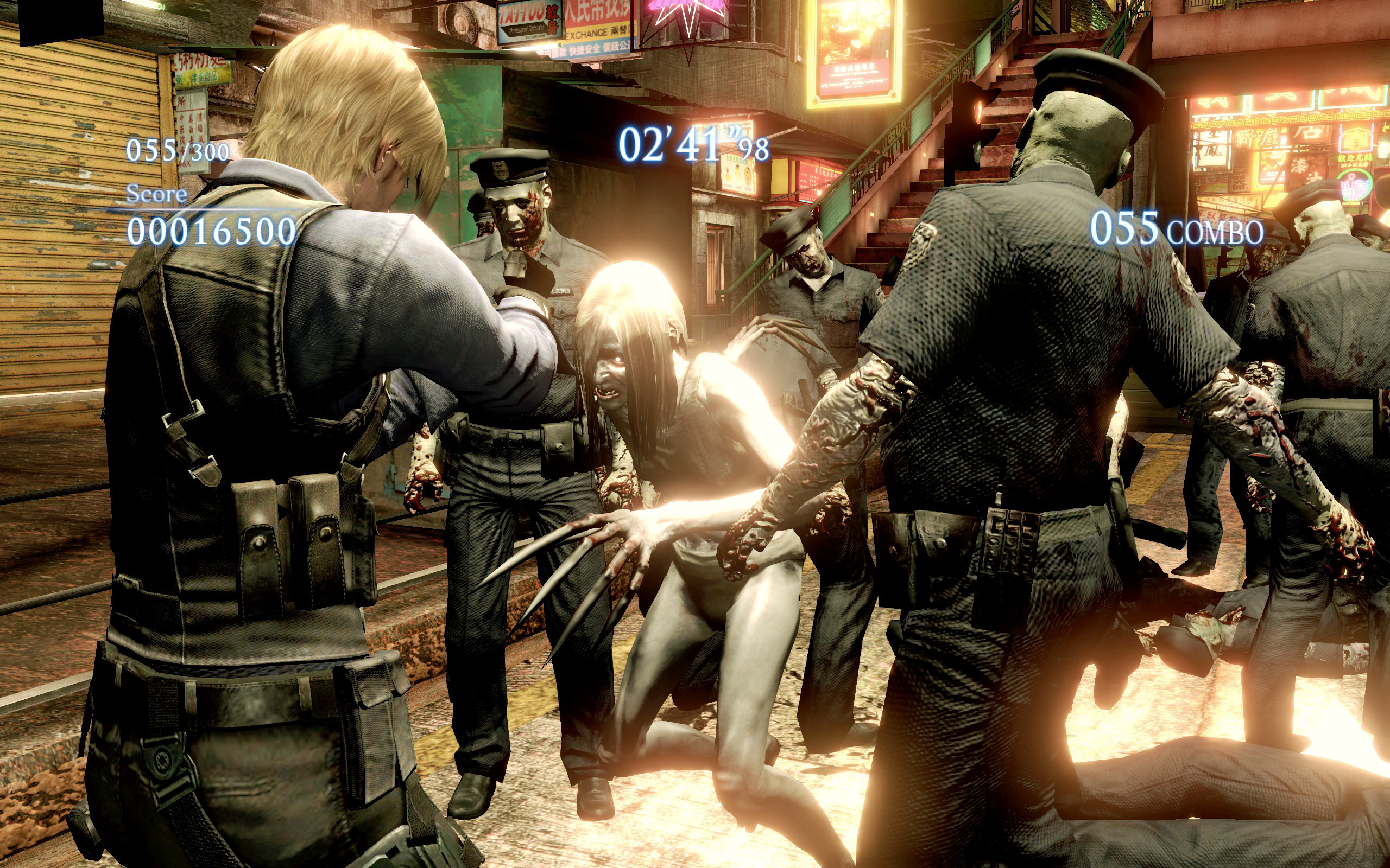Play As Left 4 Dead 2 Characters in Resident Evil 6 - The Koalition