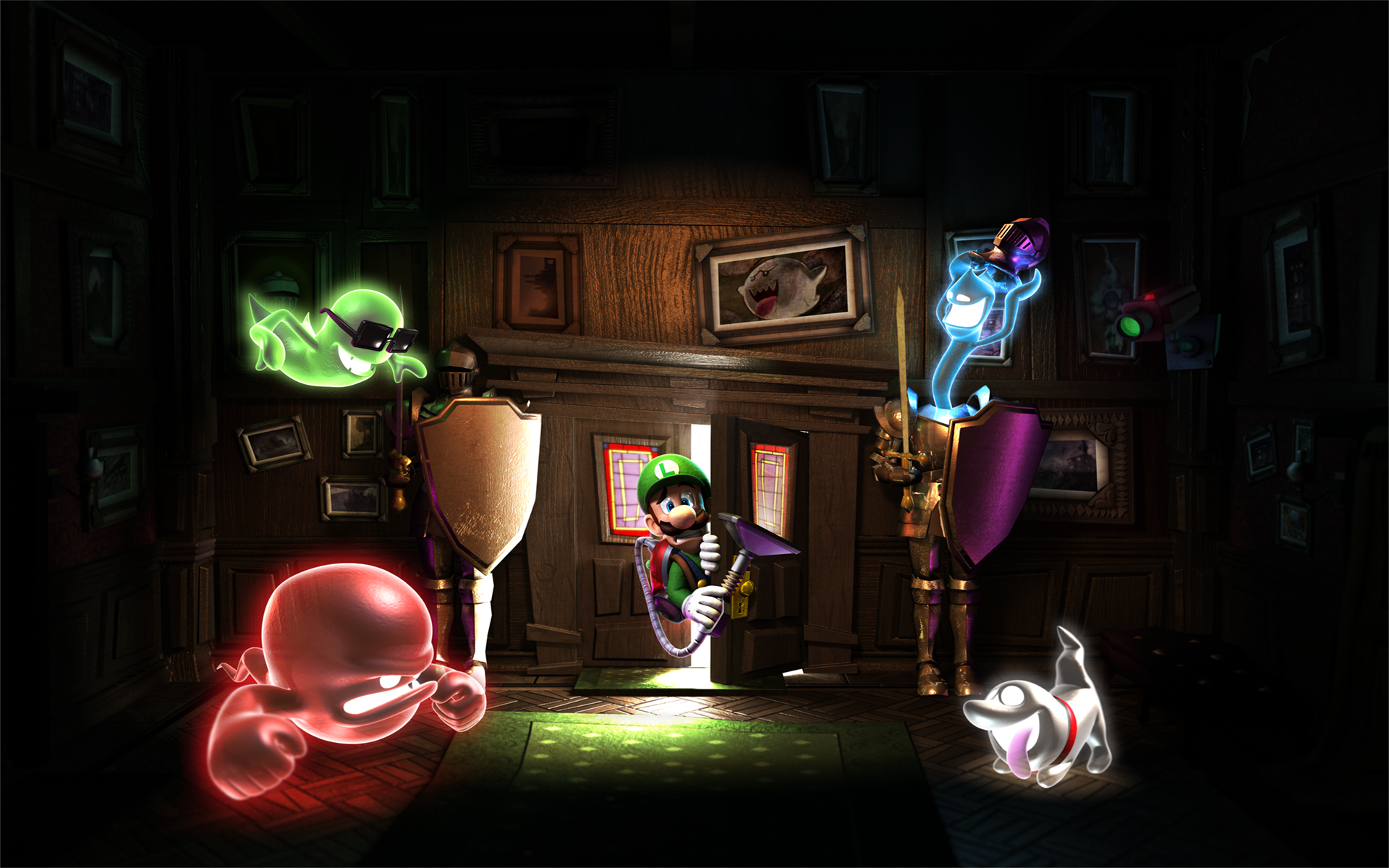 Luigis Mansion Dark Moon 2013 3DS Game HD Wallpapers 01