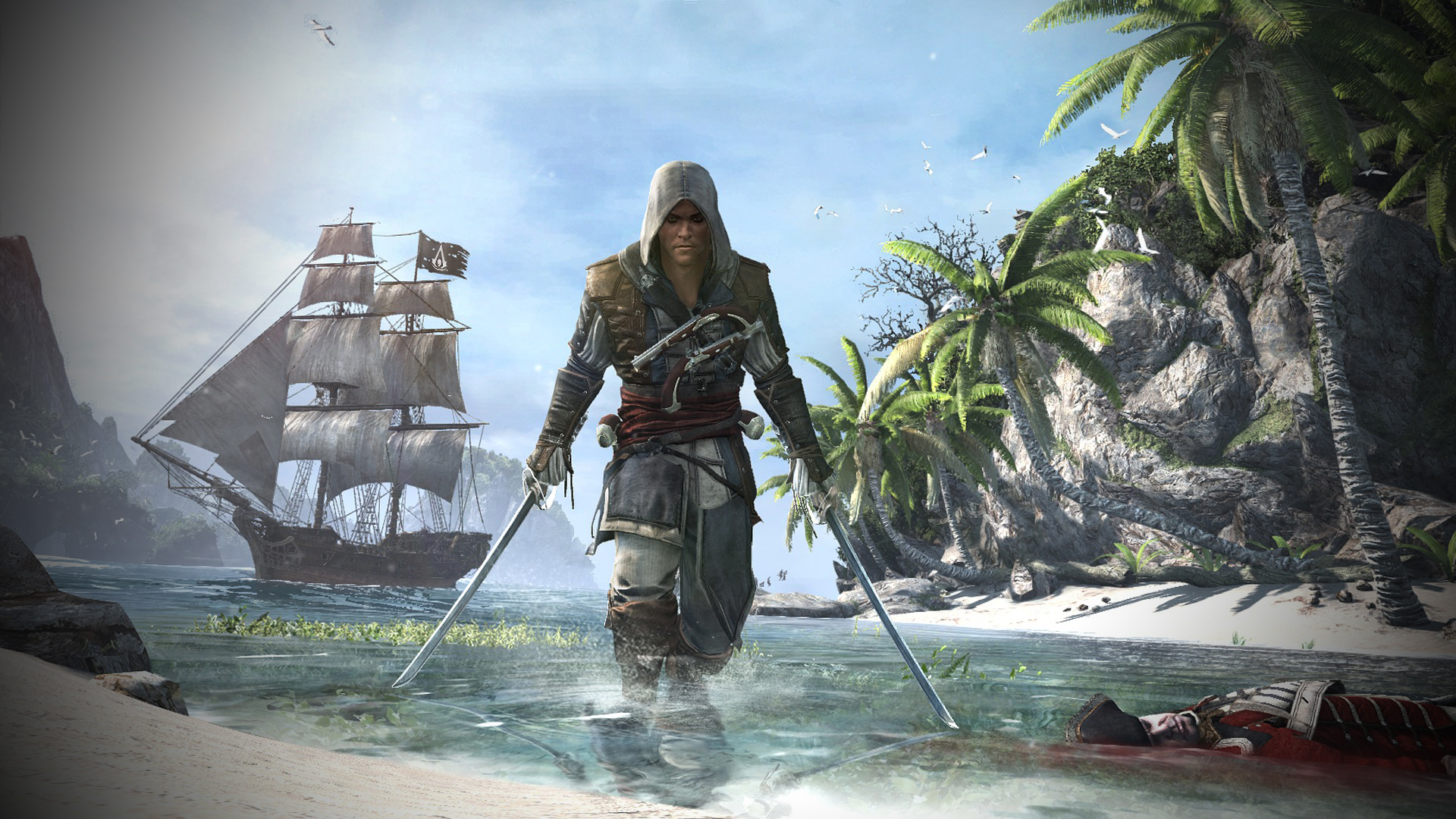 Assassin s creed 4 playstation exclusive missions detailed for Assassin s creed sfondi