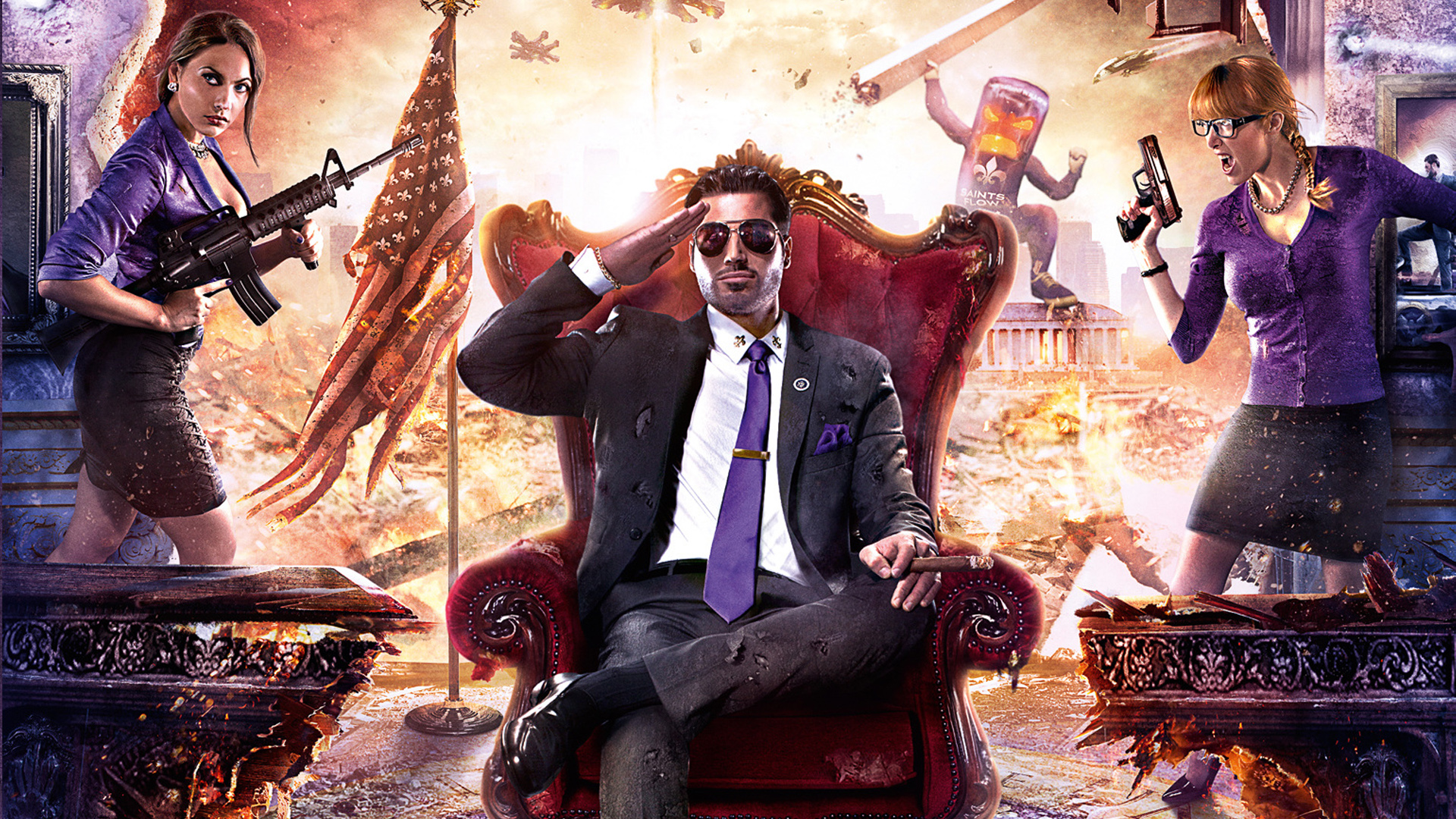 Saints Row IV: Re-Elected – Back for a Second Term – The ...