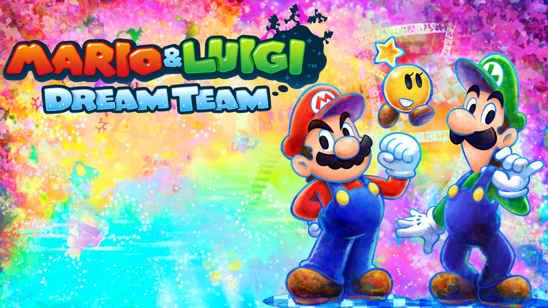 mario and luigi team