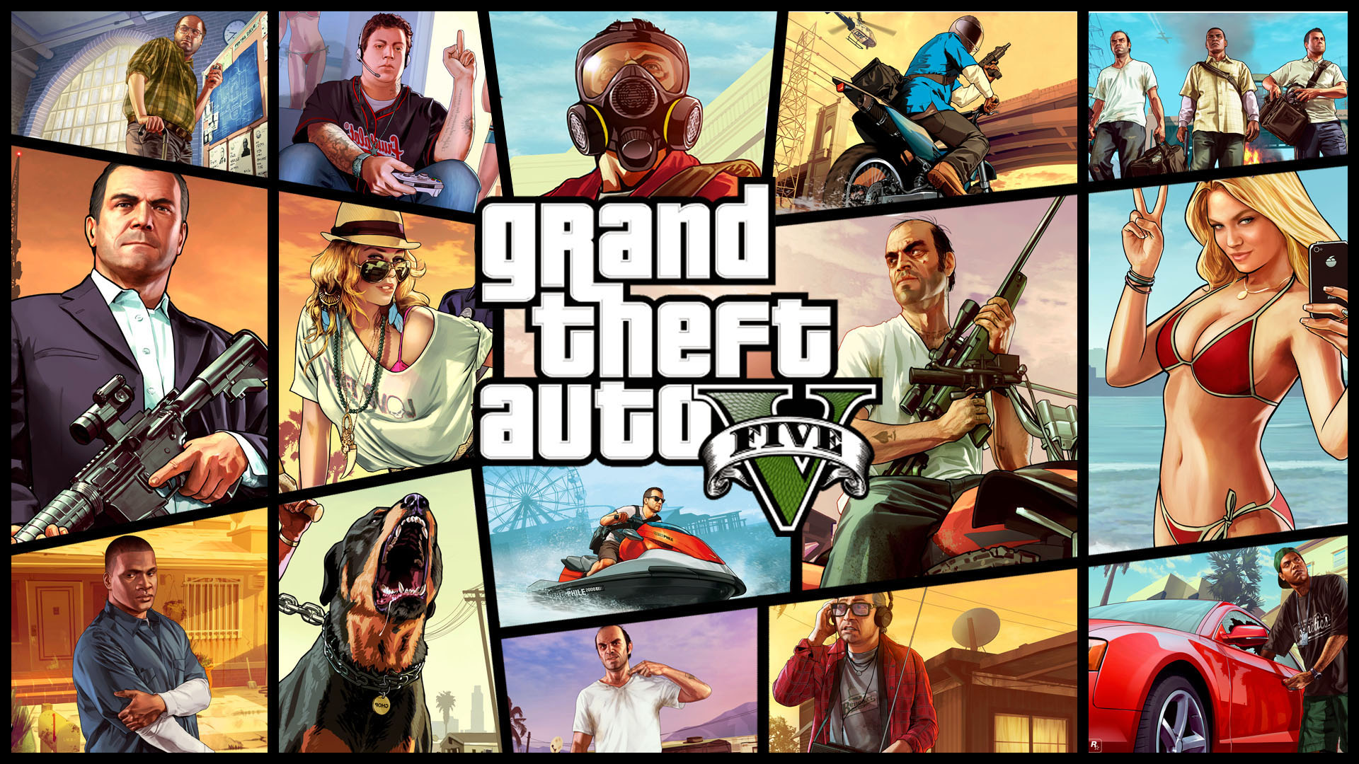 The First Hour Grand Theft Auto V The Koalition