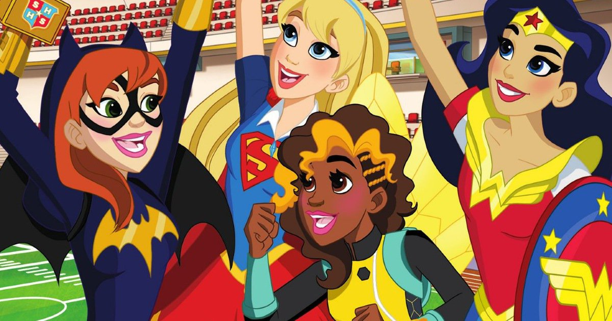 Dc Super Hero Girls Intergalactic Games Coming In May To